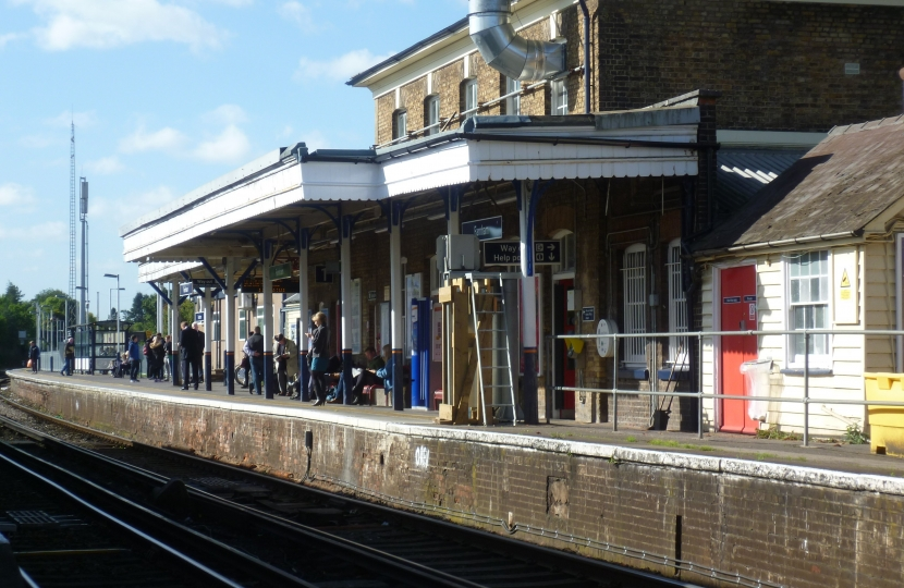 Farnham station